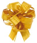 Zieh-Schleife Svelto Rotolo Country Bows, gold, AC3007